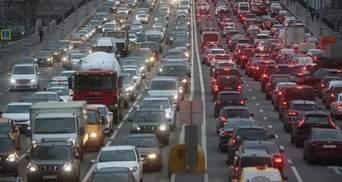 Пробки парализовали Киев утром 25 января: где трудно проехать