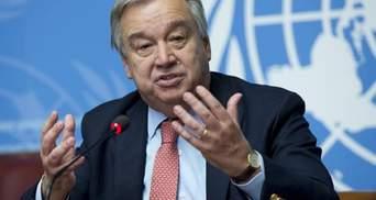 """Генсек ООН побоюється, що світ розколеться на 2 частини – """"американську"""" й """"китайську"""""""