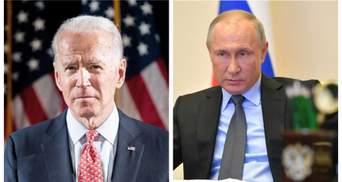 Путін розчарований після розмови з Байденом