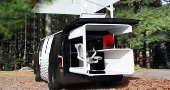 Nissan представив концепт мобільного офісу: фото проєкту