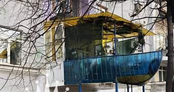 В Киеве хотят штрафовать за кондиционеры и обезображенные балконы