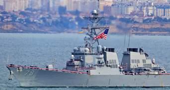 Третій корабель ВМС США увійшов у Чорне море: що про це кажуть у НАТО