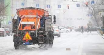 Из-за снега и гололеда Киев 29 января стоит в пробках – онлайн-карта