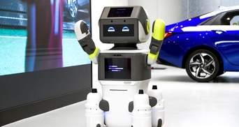 Hyundai представила робота-хостес: що відомо про розробку