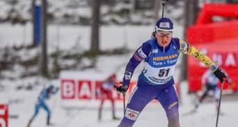 Україні не вистачило однієї медалі для перемоги на чемпіонаті Європи з біатлону