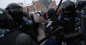 Україна вимагає введення санкцій проти Росії через придушення протестів