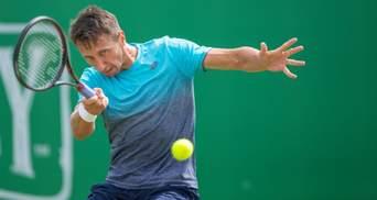 Украинец Стаховский вырвал победу у россиянина на турнире в Мельбурне
