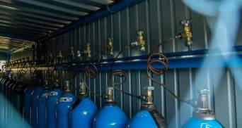 В Мариуполе в рекордные сроки открыли кислородную станцию для лечения больных COVID-19