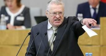 """Київ у Москві не потрібен, – Жиріновський кличе на мітинг, щоб """"захистити Росію"""""""