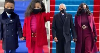 Фото с детьми, которые повторили образ Обам с инаугурации Байдена, очаровали сеть