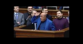 Фашистский дьявол: на выступление Рабиновича в Раде наложили музыку – курьезное видео