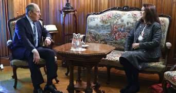 Глава ОБСЕ встретилась с Лавровым в Москве: обсуждали и Украину