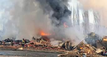 У Греції потужний вибух зруйнував триповерховий готель: відео