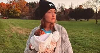 Джіджі Хадід зробила символічне тату в честь доньки Хаї: фото
