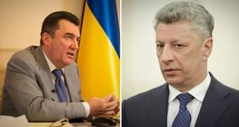 Данилов к Бойко: Санкции будут продолжаться, в частности в отношении некоторых депутатов в Раде