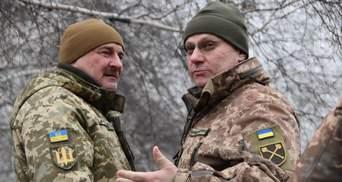 Хомчак посетил передовую украинских воинов на Донбассе: детали поездки – фото