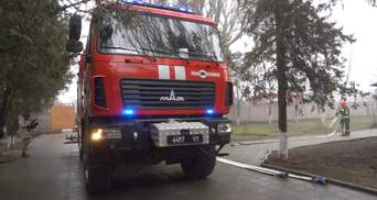 На случай беды: мариупольские пожарные отработали свои действия в пансионате – видео