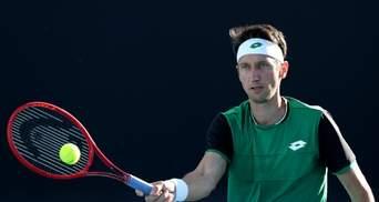 Australian Open: Стаховський у напруженому матчі прикро поступився Лайовичу