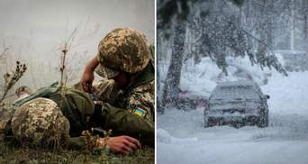 Главные новости 12 февраля: на Донбассе подорвался боец ВСУ, в Украине царит непогода
