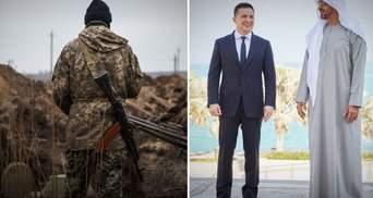 Головні новини 14 лютого: на Донбасі підірвалися військові, домовленості Зеленського в ОАЕ