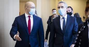 Вместе с Грузией: Шмыгаль назвал приоритет Украины относительно членства в НАТО