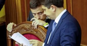 Разумков обошел Зеленского: в ОП рассказали, смущает ли президента рейтинг спикера