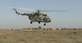 На Херсонщине прошли учения военной авиации и десанта: мощное видео
