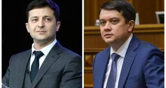Разумков изрядно беспокоит Зеленского: журналист Печий оценил шансы председателя Верховной Рады