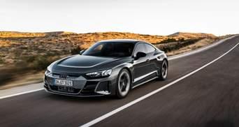 Audi представила элитный электрокар E-Tron GT: впечатляющие фото, характеристики