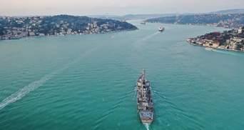 Брязкання зброї: Росія розкритикувала появу кораблів США у Чорному морі