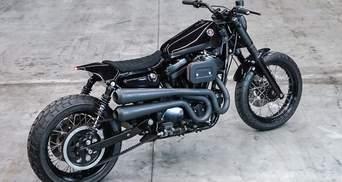 Немцы подарили 25-летнему Harley-Davidson новую жизнь: крутые фото байка