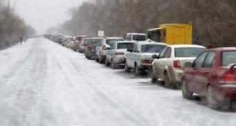 Непогода в Украине и очереди на границе: какая ситуация