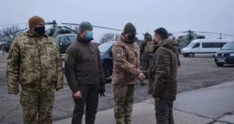 Зеленський разом з послами G7 приїхав на Донбас