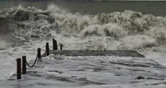 Хвилі сягатимуть 5 метрів: на Чорному та Азовському морях прогнозують шторм