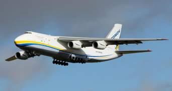 """Продемонстрували, як АН-124 """"Руслан"""" злітає із засніженого аеродрому: потужне відео"""