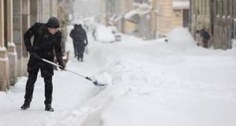 Вместо обеденного перерыва: львовские чиновники снова вышли с лопатами в центр города – фото