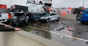В Техасе столкнулось более 130 автомобилей: погибли не менее 6 человек – фото, видео