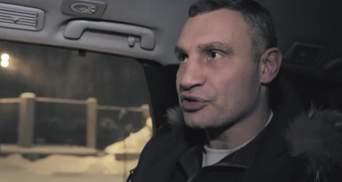 Кличко ночью проверял, как чистят снег в Киеве, а потом отправился в отпуск