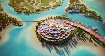 Барвистий острівний рай: новий курорт мрії на березі Червого моря у Саудівській Аравії – фото