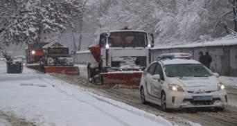 Снегопад в Украине: в каких регионах действуют ограничения движения транспорта – видео