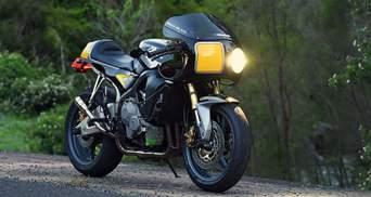 Итальянцы сделали с Honda CBR600RR спортивный ретробайк: крутые фото