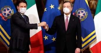 В Італії привели до присяги новий уряд на чолі з Маріо Драґі: відео
