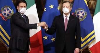 В Италии привели к присяге новое правительство во главе с Марио Драги: видео