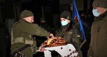 С оркестром: в Одессе поприветствовали нацгвардейцев, которые вернулись из ротации в ООС – фото