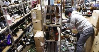 Землетрясение в Японии оставило без света почти миллион домов: есть пострадавшие – фото