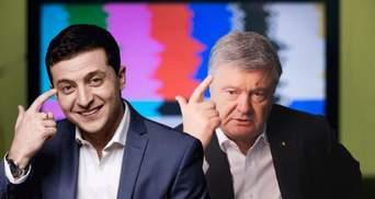 Еволюція Зеленського проти позиції Порошенка: заборона каналів Медведчука зламала шаблон