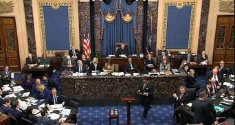 Сенат рассматривает импичмент Трампа: произносят заключительные речи