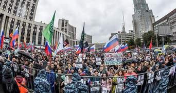 Кремль боится протестов, но они не критичны, – Гудков