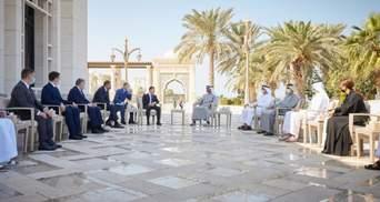 Зеленський домовився про економічну співпрацю з ОАЕ: чого вона стосується