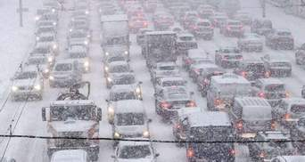 Зранку 15 лютого Київ паралізували затори: онлайн-карта